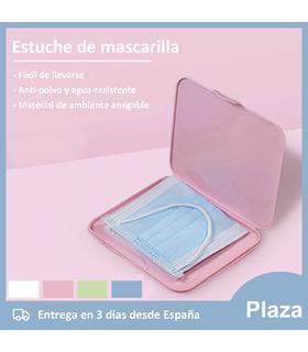 Mask666 Estuche de mascarilla antibacterial para Mascarilla Higienica